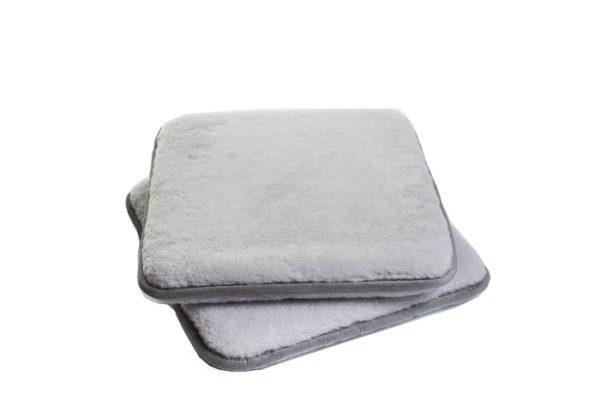 Enkel sittdyna grå