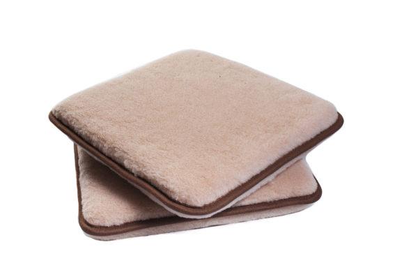 Enkel sittdyna brun